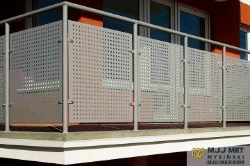 Balustrada perforowana