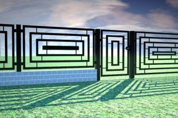 Ogrodzenie nowoczesne 15